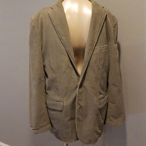J Crew vintage cord blazer men's size Medium